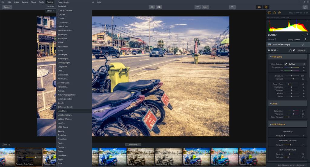 AuroraHDR review – plugins for Photoshop