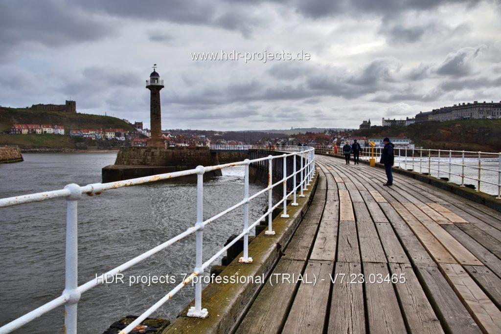 Final HDR seaside image – Basic edit