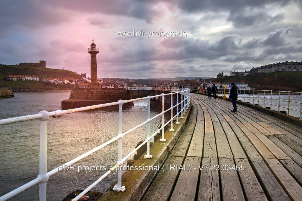 Final HDR seaside image – Exposure errors preset