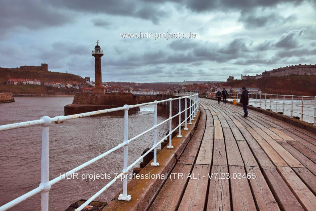 Final HDR seaside image – Natural Clarity preset